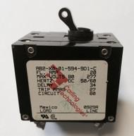 Newmar 30 Amp Double Pole Breaker W/ Black Throw (R-NEW30ADB)