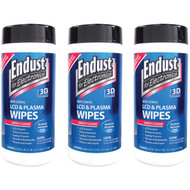 3 Pack Endust 11506 Lcd & Plasma Monitor Cleaner Pop-up Wipes (R-NOZ11506KIT)