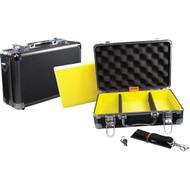 "APE CASE ACHC5450 Aluminum Hard Case (Exterior dim: 7.5""H x 3.88""W x 11.88""D; Interior dim: 7""H x 3.38""W x 11.29""D) (R-NOZACHC5450)"