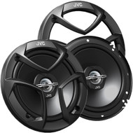 "JVC 6.5"" 2-way Black Coaxial Speakers System Pair"