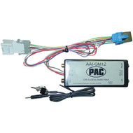 PAC AAI-GM12 Auxiliary Audio Input & Interface for 2000-2009 GM(R) Class II (R-PACAAIGM12)