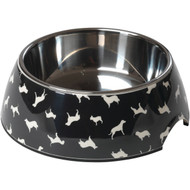 House of Paws HP714L Breed Print Dog Bowl (L) (R-PAWHP714L)