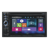 "Power Acoustik 6.2"" D.Din Am/Fm/Cd/Dvd/Usb/Bt (R-PD624B)"