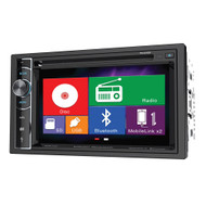 "Power Acoustik Double din AM/FM/DVD/BT 6.2"" moblile link X2 (R-PD62H2B)"