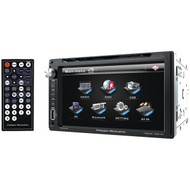 "Power Acoustik Double Din AM/FM/DVD/BT 6.5"" (R-PD651B)"