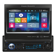 "Power Acoustik S. Din 7"" Flip Out Am/Fm/Cd/Dvd/Usb/Bt (R-PD724B)"