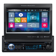 "Power Acoustik Single Din AM/FM/DVD/BT flip out 7"" mobile link X1 (R-PD724HB)"