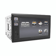 "Power Acoustik Double Din AM/FM/BT mechless 6.5"" (R-PDR654B)"