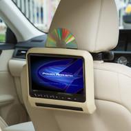 "Power Acoustik 7"" LCD Headrest bracket mount DVD player (R-PHAD7)"