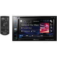 "PIONEER AVH-X1800S 6.2"" Double-DIN In-Dash DVD Receiver with Siri(R) Eyes Free, SiriusXM(R) Ready, Spotify(R) & AppRadio One(TM) (R-PIOAVHX1800S)"