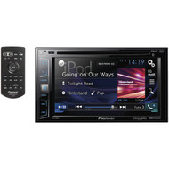 "PIONEER AVH-X390BS 6.2"" Double-DIN In-Dash DVD Receiver with Bluetooth(R) & SiriusXM(R) Ready (R-PIOAVHX390BS)"