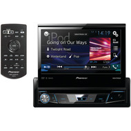 "PIONEER AVH-X7800BT 7"" Single-DIN In-Dash DVD Receiver with Flip-out Display, Bluetooth(R), Siri(R) Eyes Free, Spotify(R) & AppRadio One(TM) (R-PIOAVHX7800BT)"
