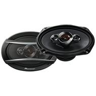 "PIONEER TS-A6986R A-Series 6"" x 9"" 600-Watt 4-Way Speakers (R-PIOTSA6986R)"