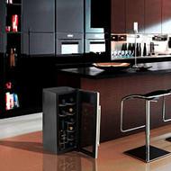 Electric Wine Cooler - Wine Chilling Refrigerator Cellar (12-Bottle) (R-PKTEWC12)