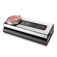 Automatic Food Vacuum Sealer - Electric Air Sealing Preserver with Digital Scale (R-PKVS36STS)