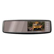 """Pyle 4.3"""" Rear View Clip On Mirror With Camera Wireless (R-PLCM4300WI)"""