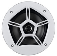 "Planet 6.5"" 2-Way Coaxial Marine Grade Speaker 200W White (R-PM65W)"