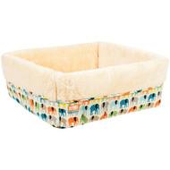 Animal Planet 11321-01 Square Cuff Pet Bed (Elephants) (R-PMJ1132101)