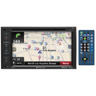 "Planet Audio 6.2"" Touchscreen D.Din Gps/Bt/Dvd/Remote (R-PNV9645)"