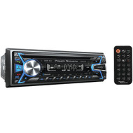 POWER ACOUSTIK PCD-51B Single-DIN In-Dash CD/MP3 AM/FM Receiver with USB Playback (With Bluetooth(R)) (R-POWPCD51B)