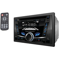 POWER ACOUSTIK PCD-52B Double-DIN In-Dash CD/MP3 AM/FM Receiver with Bluetooth(R) & USB Playback (R-POWPCD52B)