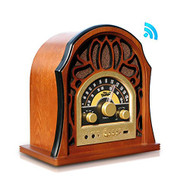 Vintage Style Bluetooth Radio - Classic Design Stereo Speaker System (R-PUNP37BT)