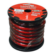 Audiopipe 0Gauge 25Ft Copper Power Cable Red (R-PW025CPRRD)