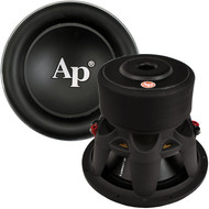 "Audiopipe 15"" Sound Quality Woofer 2400W Max 4 Ohm Dvc (R-Q15)"