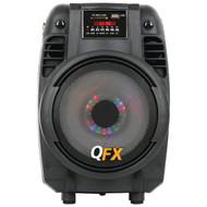 """QFX PBX-710700BTL 6.5"""" Portable Bluetooth(R) Party PA Speaker (R-QFX710700BTL)"""