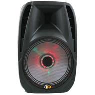 """QFX PBX-71100BTL 10"""" Portable Bluetooth(R) Party PA Speaker (R-QFX71100BTL)"""