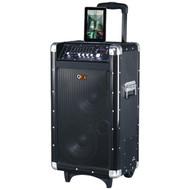 QFX PBX-3080BT Rechargeable Bluetooth(R) Party PA Speaker (Black) (R-QFXPBX3080BT)