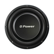 "Qpower Deluxe 10"" Flat subwoofer 1000W Max (R-QPF10DFLAT)"