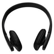 IStuff WIRELESS HI FI HEADSET W/ BLUETOOTH BLACK (R-QR1BTBK)