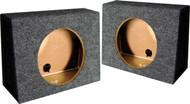 "*Tw10S* Empty Split Woofer Box; 10"" Angle; Qpower (R-QTW10S)"