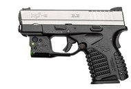 Viridian Reactor 5 Green Laser Sight For Springfield Xds Featuring Ecr  Includes Hybrid Belt Holster (R-R5XDS)