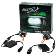 RACE SPORT H13-LED-G3-KIT GEN3(R) LED Headlight Kit (H13-3 HI/LO) (R-RSPH13LEDG3KIT)