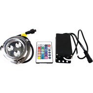 MARINE SPORT MS3LEDRGB 3-LED RGB Underwater Light (R-RSPMS3LEDRGB)
