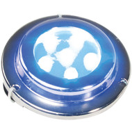 MARINE SPORT MS-ML-6X1B 6-LED 1-Watt x 6 Surface-Mount Marine Light (Blue) (R-RSPMSML6X1B)