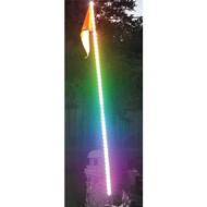 RACE SPORT RSQG6FTRGB 5050 RGB LED ATV/Jeep(R) Flag Pole Whip (6ft) (R-RSPRSQG6FTRGB)