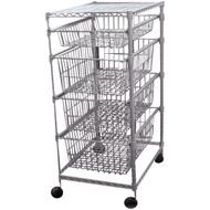 30029PET 4-Drawer Storage Cart (R-RTO-208)