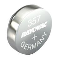 RAYOVAC 303/357-1ZMA 1.5-Volt 303/357 Silver Watch/Electronic Battery (Single) (R-RVC3033571ZMA)