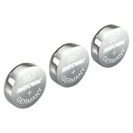 RAYOVAC 303/357-3ZMA 1.5-Volt 303/357 Silver Watch/Electronic Battery (3 pk) (R-RVC3033573ZMA)