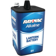 RAYOVAC 806 6-Volt, 4-Alkaline, D-Cell-Equivalent Lantern Battery with Spring Terminals (R-RVC806)