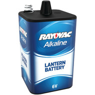 RAYOVAC 808 6-Volt Alkaline F-Cell Lantern Battery with Spring Terminals (R-RVC808)