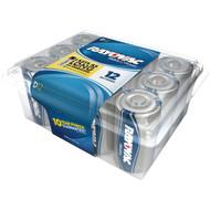 RAYOVAC 813-12PPJ Alkaline Batteries Reclosable Pro Pack (D, 12 pk) (R-RVC81312PPJ)