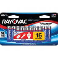 RAYOVAC 815-16LTJ AA Alkaline Batteries (16 pk) (R-RVC81516LTJ)