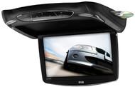 "Soundstorm 13.3"" Flip Down Monitor Dvd Fm Modulator Black/Gray/Tan Housings (R-S133BGT)"