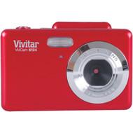 VIVITAR VS124-RED 16.1-Megapixel Digital Camera (R-SAKVS124RED)