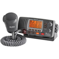COBRASELECT MR F77B GPS Marine Fixed Mount VHF Radio with Built-in GPS Receiver (Black) (R-SCBRMRF77BGPS)