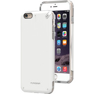 PURE GEAR 11074VRP iPhone(R) 6 Plus/6s Plus DualTek(R) PRO Case (White/Clear) (R-SCM11074VRP)